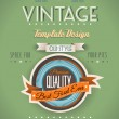 Vintage retro page template for a variety of purposes: - Stock Vector