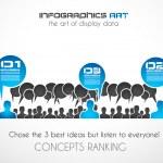Worldwide communication and social media concept art. — Stock Vector