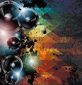 Modèle de flyer club disco. — Vecteur