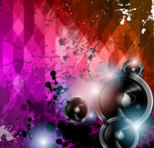 диско-клуб флаер шаблон. — Cтоковый вектор