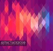 Abstraktní klubu flyer šablony. abstraktní pozadí — Stock vektor