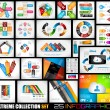 Extreme Collection of 25 quality Infographics  — Imagens vectoriais em stock