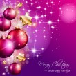 2014 Christmas Colorful Background  — Stockvektor