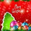 2014 Christmas Colorful Background  — Stockvectorbeeld
