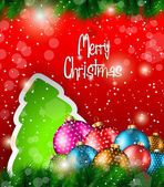 2014 Christmas Colorful Background — Stock Vector