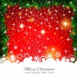 2014 Christmas Colorful Background — Vector de stock