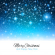 2014 Christmas Background with waterfall — Stock Vector