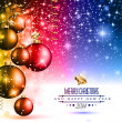 2014 christmas colorful background — Stock Vector #37193959