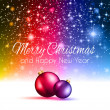 2014 christmas colorful background — Stock Vector #37193985