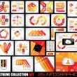 Extreme Collection of 25 quality Infographics background — 图库矢量图片 #37194153