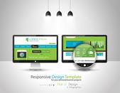 UI interface design elements — Stock Vector