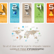 Infographic design template. — Stock Vector #41356743