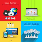 Infographic template collections — Stock Vector
