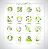 Projeniz için tasarım öğeleri kümesi. — Stok Vektör