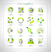 Set of design elements for your project. — Vector de stock