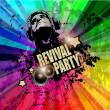 PArty Club Flyer for Music — Stock Vector #48177699