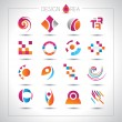 Set of design elements for your project — Stock Vector