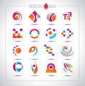 Set of design elements for your project — Vecteur