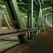 Stock Photo: Gdanski bridge (Most Gdanski), Warsaw, Poland.