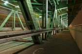 Gdanski bridge (Most Gdanski), Warsaw, Poland. — Stock Photo