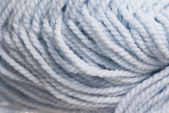 Macro Photo of Blue Wool. — Stock Photo