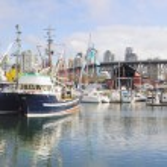 Harbor at Granville Island Vancouver BC Panorama — Stock Photo #12369204
