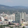 Stock Video: Portland Oregon Cityscape Northwest Downtown