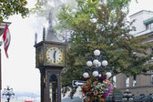 Steam Clock at Gastown in Vancouver BC — Stock Photo