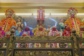 Chinese Taoist Temple Altar with Gods Goddesses and Dieties — Stock Photo