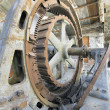 Old Hydroelectric Power Plant Turbine — Stock Photo