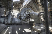 Old Abandoned Electric Power Station — Stock Photo