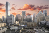 Vancouver BC Downtown Shopping District — Stock Photo