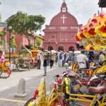 Christ Church Melaka in Malaysia — Stock Photo #18066311