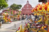 Christ Church Melaka in Malaysia — Stock Photo