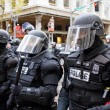 Stock Photo: Portland Police in Riot Gear NC-17 Protest