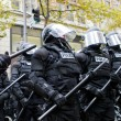 Stock Photo: Portland Police in Riot Gear N17 Protest