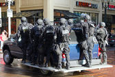 Oregon State Trooper in Riot Gear — Stock Photo