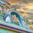 Sri LaySithi Vinayagar Temple Towers — стоковое фото #20017081