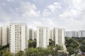 Singapore Apartment Housing — Stock Photo