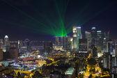 Skyline distretto centrale di affari di singapore — Foto Stock