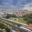 Singapore Mass Rapid Transit Station — Stock Photo