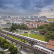 Stock Photo: Singapore Mass Rapid Transit Station