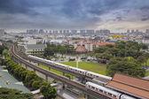 Estación de tránsito rápido masivo de singapur — Foto de Stock