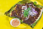 Stingray Fish with Sambal Chili Sauce — Stock Photo