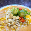 Malay Mee Rebus Dish Closeup — Stock Photo