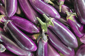 Eggplant Vegetable Background — Photo