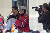 Portland Winterhawks Ice Hockey Player Signing Autographs — Stock Photo