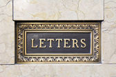 Old Letter Mail Box — Stock Photo