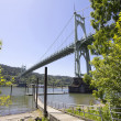 Stock Photo: St Johns Bridge Over Willamette River