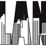 Atlanta Georgia City Text Outline Illustration — Stock Vector